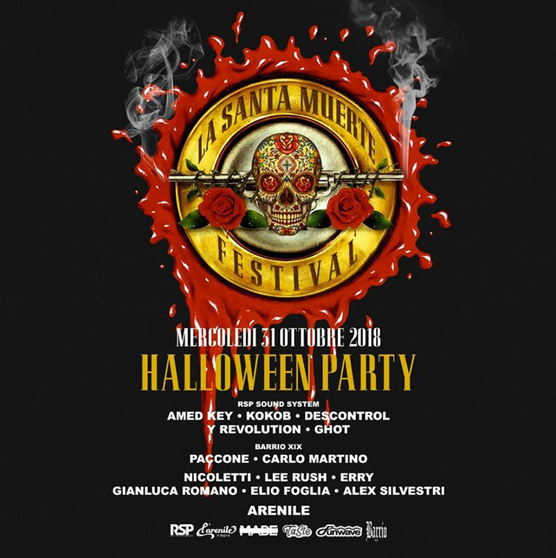 serata di hallowen allopera music hall a pozzuoli
